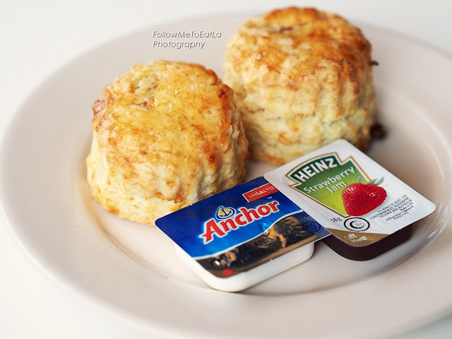 Scones With Butter & Jam RM 4.90