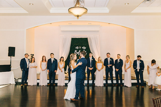first dance at Lake Mary Events Center
