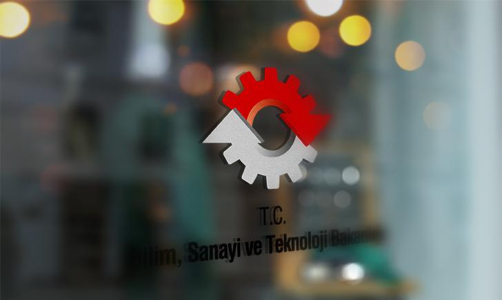 Bilim, Sanayi ve Teknoloji Bakanlığı Vektörel Logosu