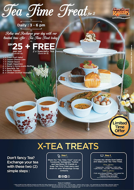 Kenny Rogers ROASTERS Malaysia Tea Time Treat