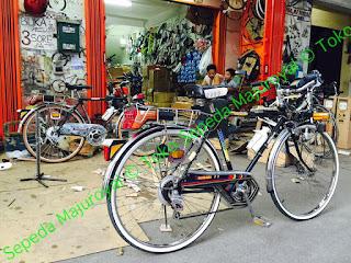 Sepeda Touring Vintage DEKI Tsubaki Japan NOS Majuroyal 3