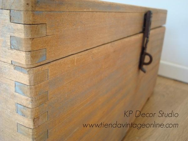 cajas de madera antiguas para decorar