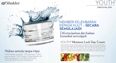 Produk Shaklee Terbaru September 2019: YOUTH Moisture Lock Day Cream