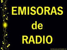 EMISORAS de RADIO...