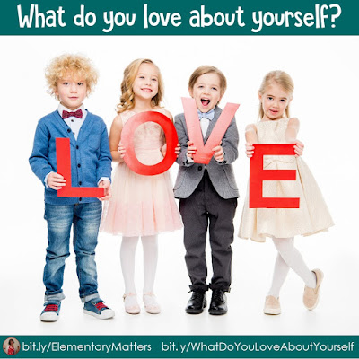 What do you love about yourself? This blog post suggests asking children what they love about themselves, and gives some suggestions.