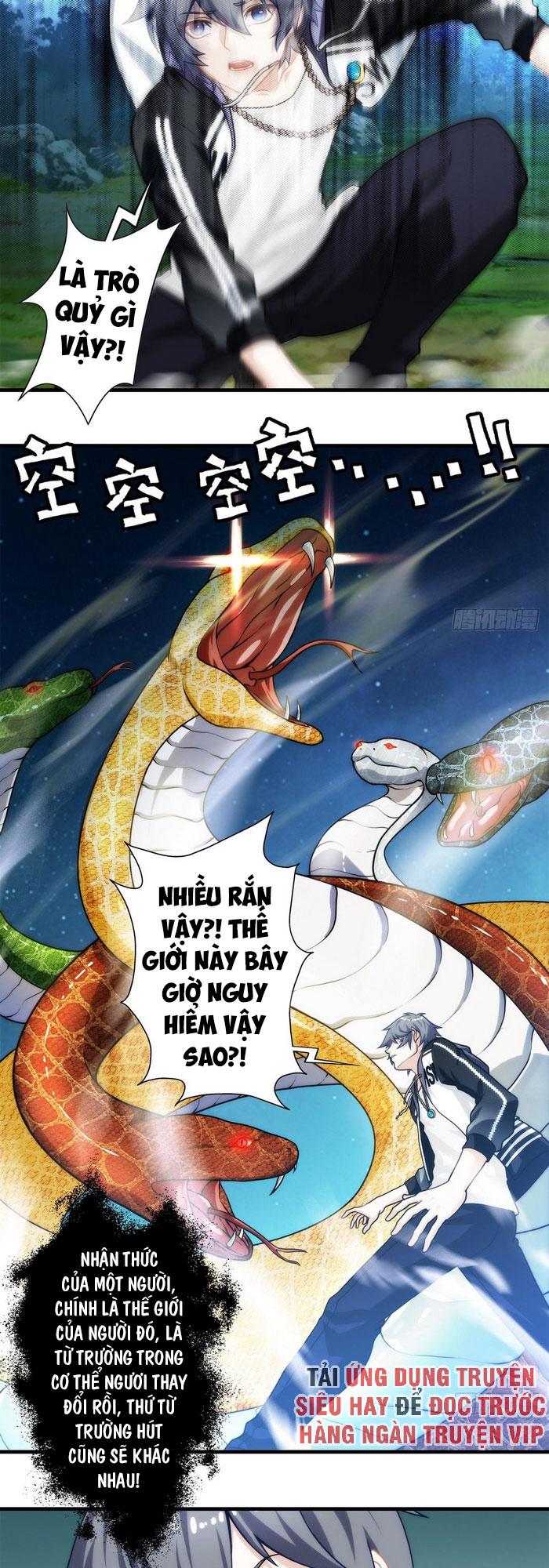 Ta Tu Linh Mạch Ở Hoa Hạ chap 8 - Trang 21