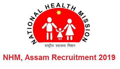NHM Assam Recruitment 2019: Specialist (O&G) / Specialist (Pediatrics) / Specialist (Anesthesia) - Walk in Interview
