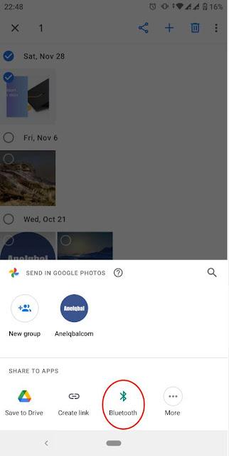 cara memindahkan foto dari hp ke komputer dengan bluetooth
