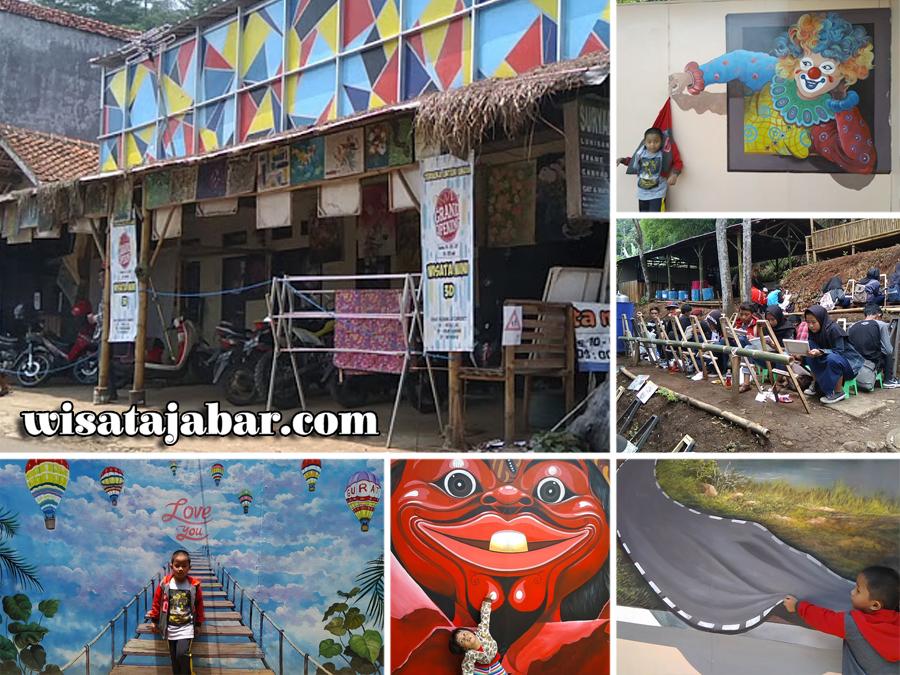 +17 Tempat Wisata Foto 3d Bandung