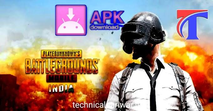 [download apk] New PUBG battleground mobile india mobile install kaise kare?