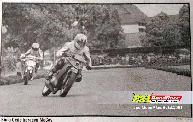 Teknik Sliding, Dari GP500 ke Road Race, BIMA OCTAVIANUS Tonggak Sejarahnya
