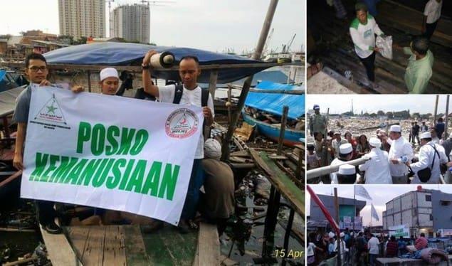 FPI Bantu Warga Korban Penggusuran Rezim Ahok
