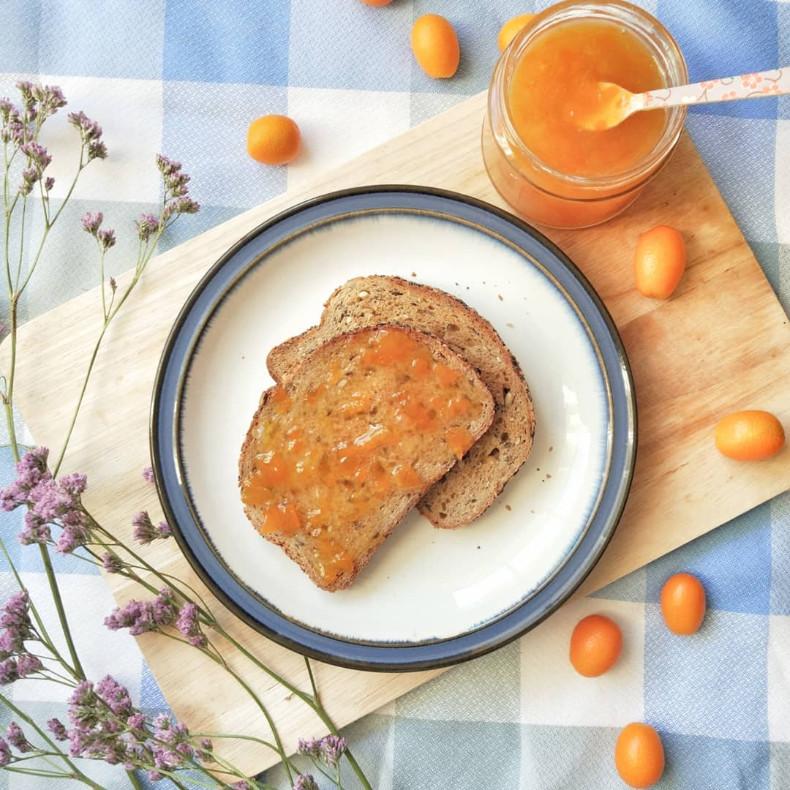 mermelada vegana kumquat