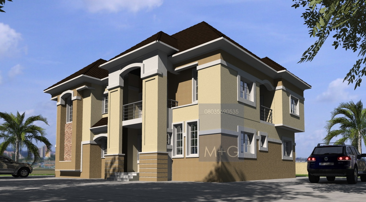 Contemporary Nigerian Residential Architecture Luxury 3: Contemporary Nigerian Residential Architecture: 5 Bedroom