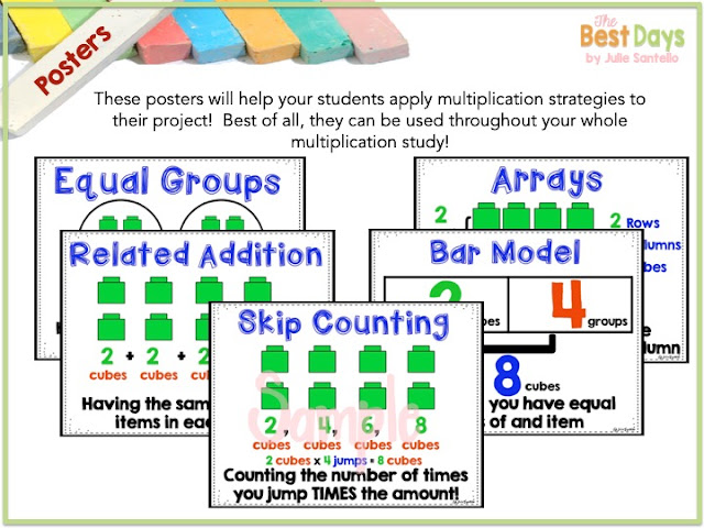 Multiplication Mall posters