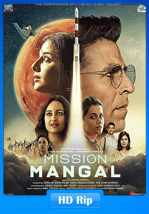 Mission Mangal 2019 Hindi 720p HDRip x264 | 480p 300MB | 100MB HEVC