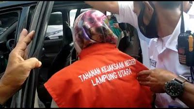 Kadis Kesehatan Kab.Lampung Utara Resmi di Tetapkan Tersangka