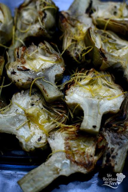 Alcachofas-a-la-plancha-con-sólido-de-aceite-de-oliva-04