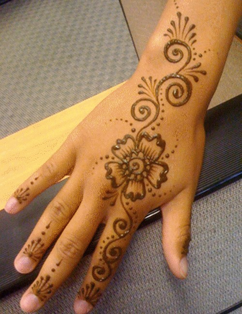 Mehndi For Beginners: Mehndi Designs For Hands : Mehndi Designs For Beginners