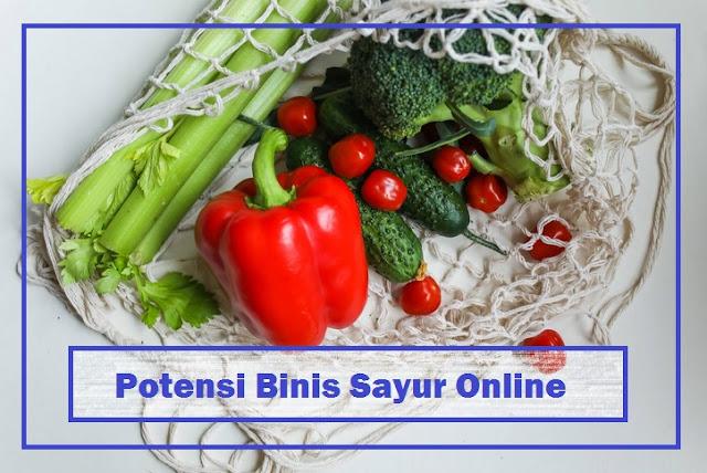 potensi jual sayur online