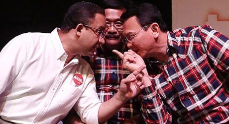 Coblos Ulang di TPS 01 Gambir, Ahok-Djarot Raih Suara Terbanyak