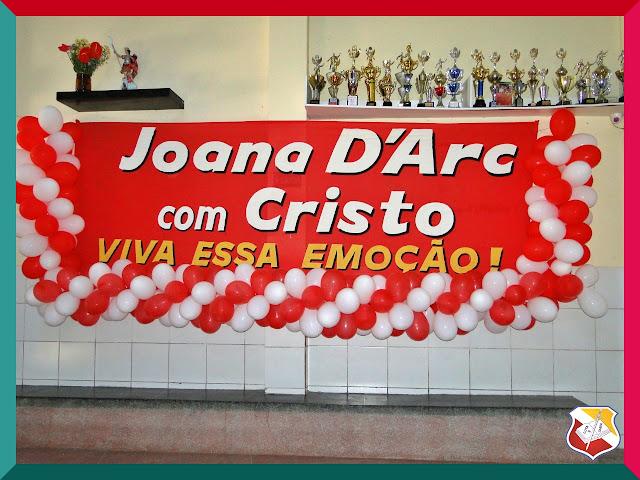 Colégio Santa Joana D'Arc promove encontro Joana D'Arc com Cristo para os jovens nesse final de semana 25 e 26 de maio.