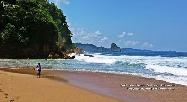 Pantai Bukit Indah dan Air Terjun Umbul Baros