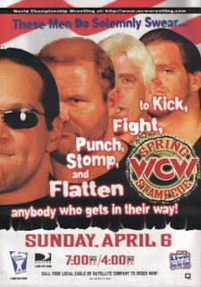 WCW Spring Stampede 1997 - Event Poster