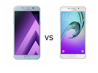 Samsung Galaxy A7 (2017)  vs Samsung Galaxy A7 (2016)