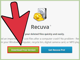 تنزيل برنامج استعادة الملفات المحذوفة recuva