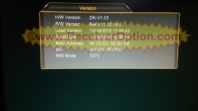 ORYX A1 HD RECEIVER SOFTWARE NEW UPDATE