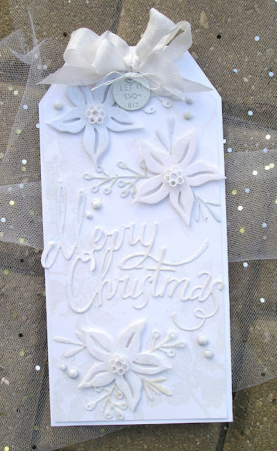 Sizzix Christmas Ribbon Sizzix Festive Greens Stampers Anonymous Yuletide Greetings For The Funkie Junkie Boutique