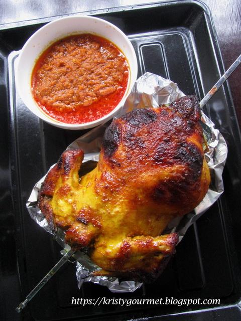 Turmeric Roasted Chicken @ 香喷喷黄姜烤鸡