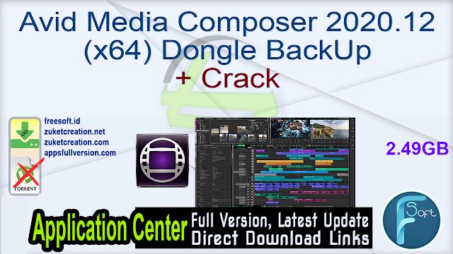Avid Media Composer 2020.12 (x64) Dongle BackUp + Crack