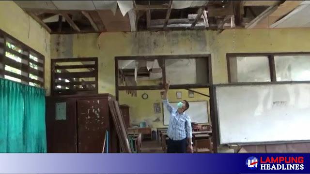 3 Lokal SDN 1 Penanggungan Rusak Berat, Disdik: Perbaiki Dapodik, Rabu Tim Turun