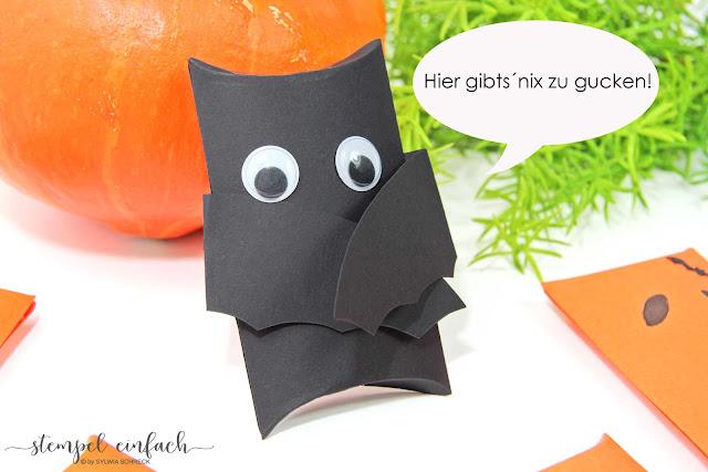 Stampin Up-Pillow Box-Halloween