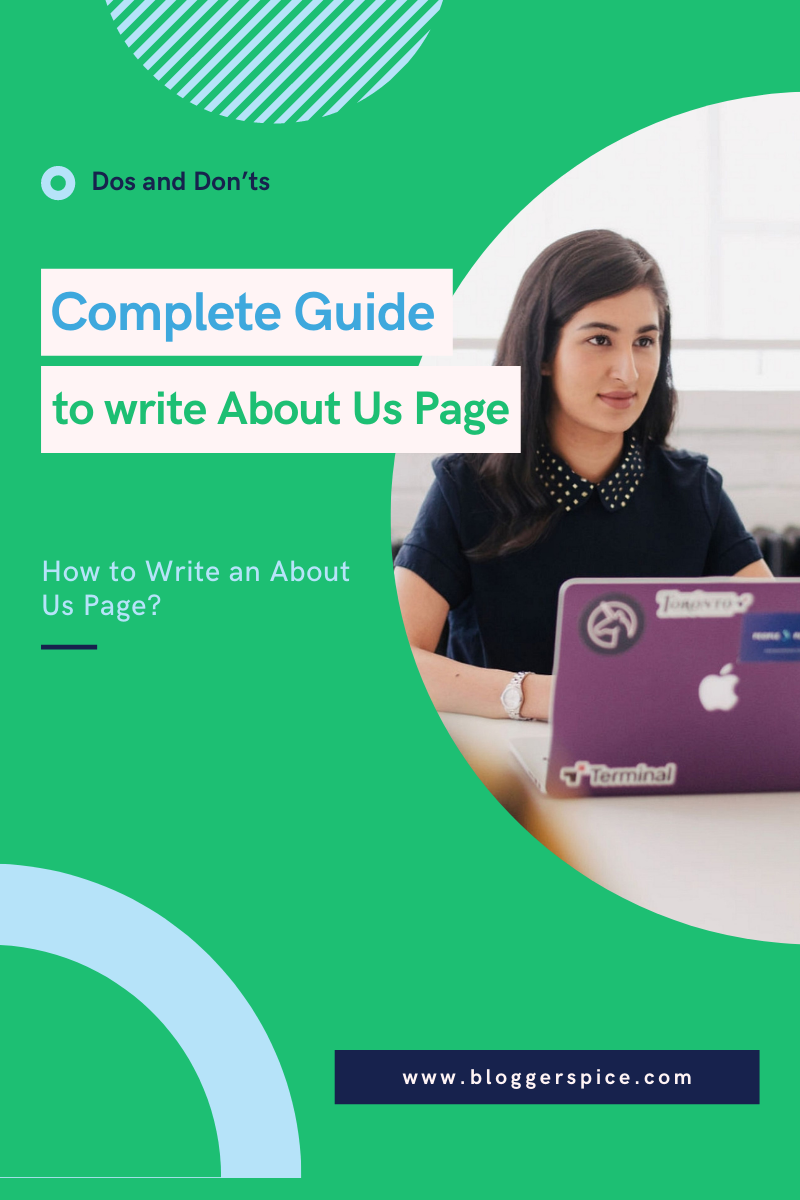Complete Guide to Write Mind Blowing About Us Page
