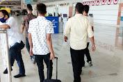 Sat Reskrim Polres Pangkep Jemput Para Terduga Penganiayaan di Bandara