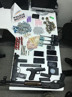 site Policia mg armas e drogas apreendidas em Ibirité , morte de Perucão