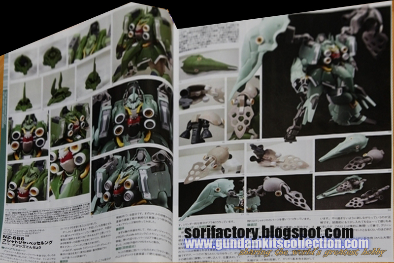 NZ-666 Kshatriya Besserung - updated 3/31/2013 - Gundam Kits