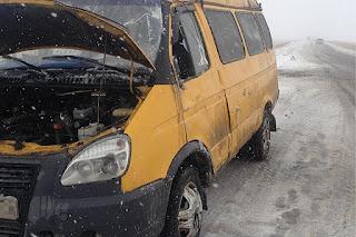 В Абзелиловском районе перевернулась пассажирская «ГАЗель» пострадали люди