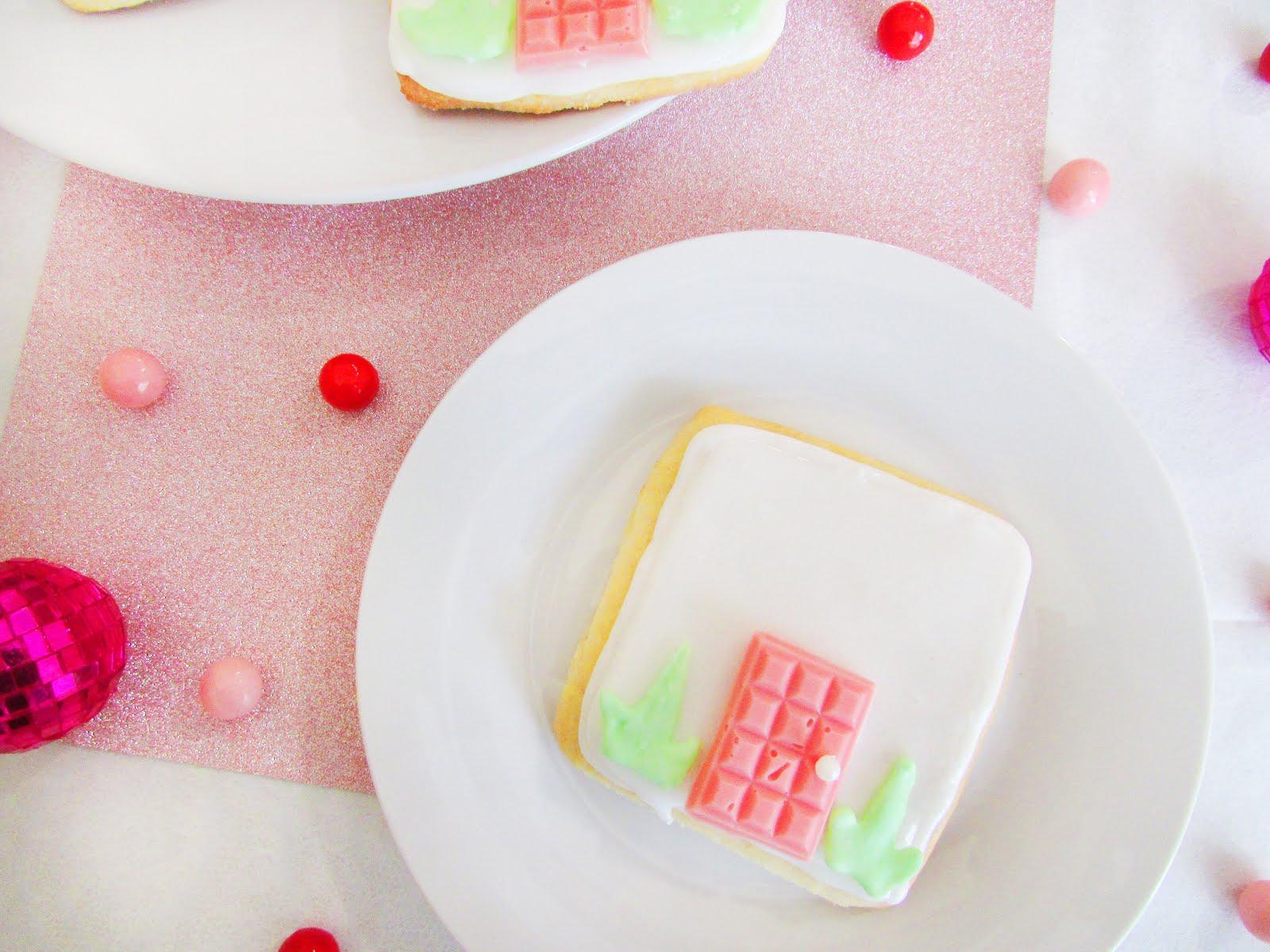 """Palm Springs """"That Pink Door"""" Sugar Cookies"""