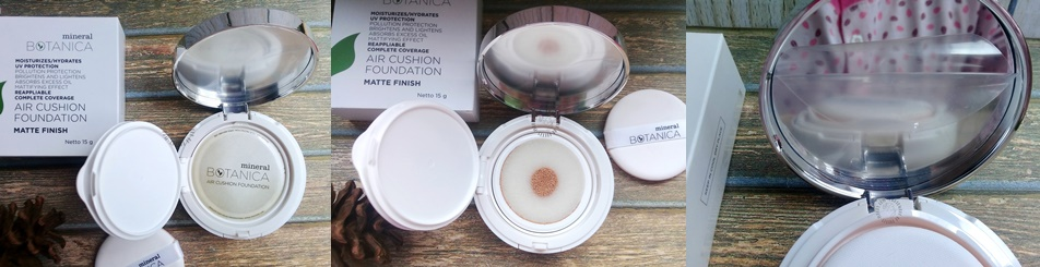 Review Mineral Botanica Air Cushion Foundation Matte Finish