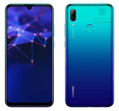صور-مسربة-لـ-مواصفات-هاتف-هواوي-P-Smart-2019-الجديد