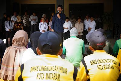 Jelang Idul Fitri, Pemkot Mataram Bagikan Lebih 2 Milyar Untuk Santunan