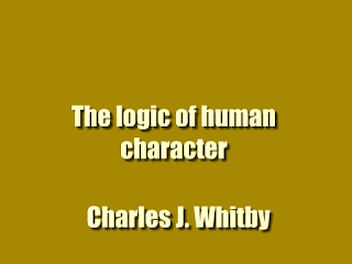 The logic of human character