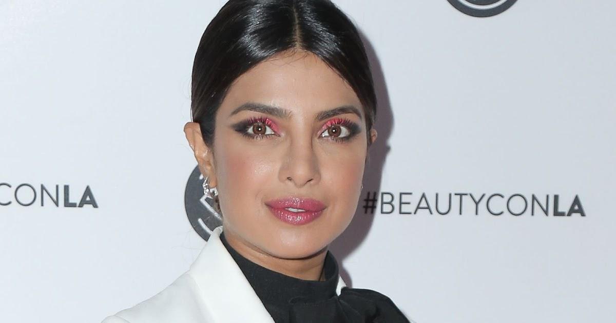 Priyanka Chopra Jonas Goes Braless In Sheer Top At -1034
