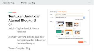 cara membuat blog gratis lewat Hp