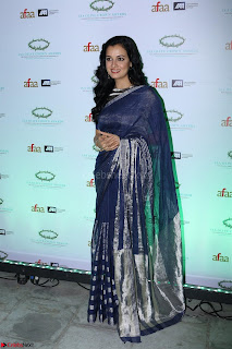 Dia Mirza in Sizzling Designer Saree at THE OLIVE CROWN AWARDS 2017 03.jpg