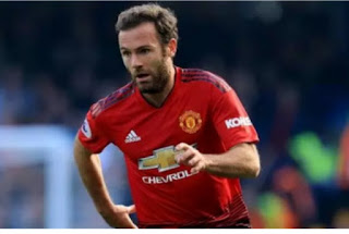 MATA :I pleaded with Ashley young to take the freekick